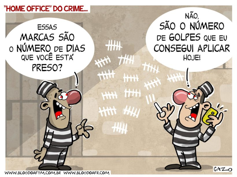 "Charge: ""Home Office do Crime "". -"