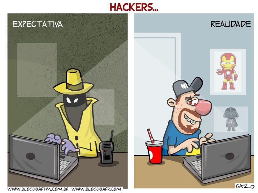 Resultado de imagem para hackers CHARGES