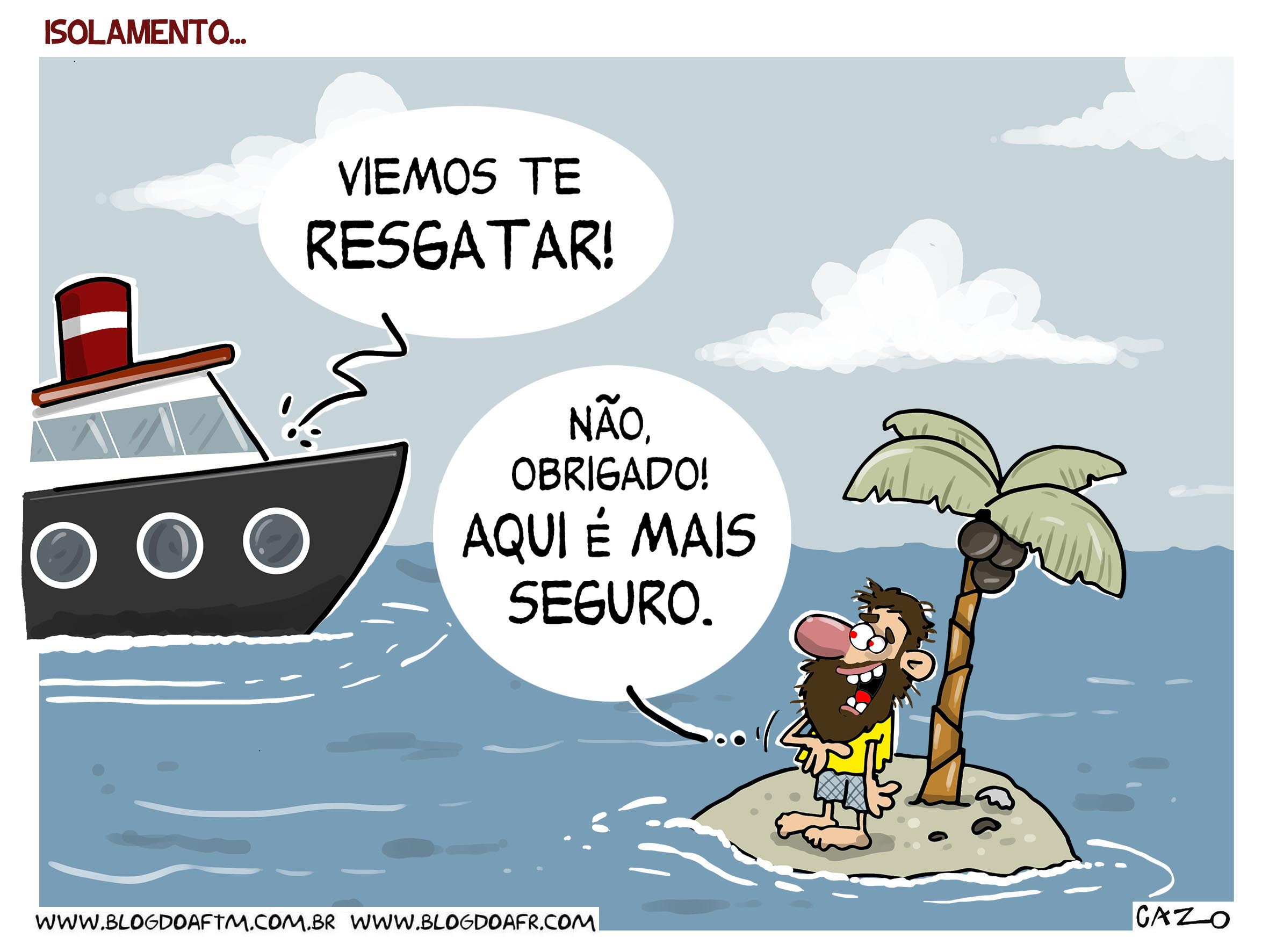 Charge: Isolamento. -