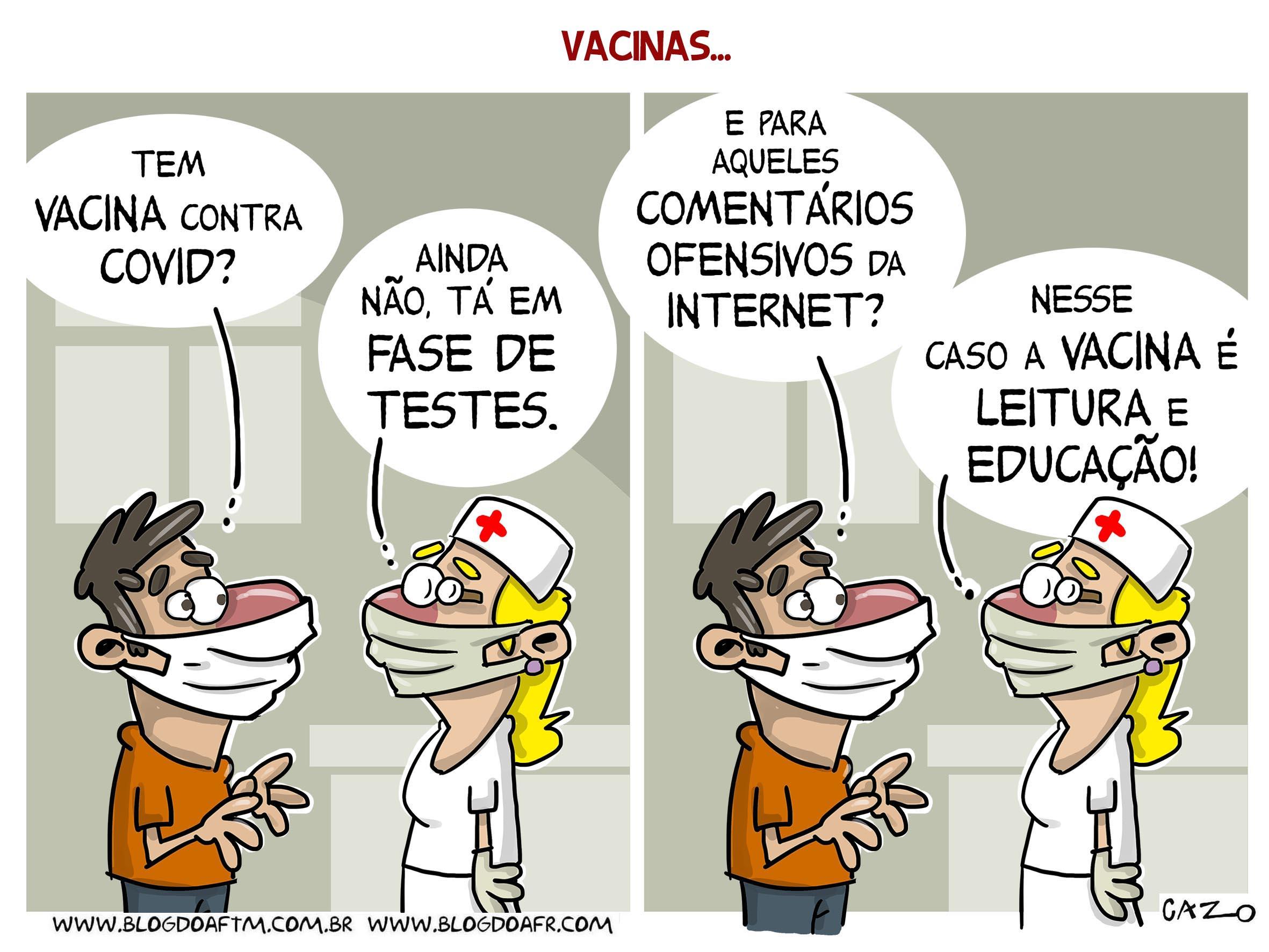 Charge: Vacinas. -